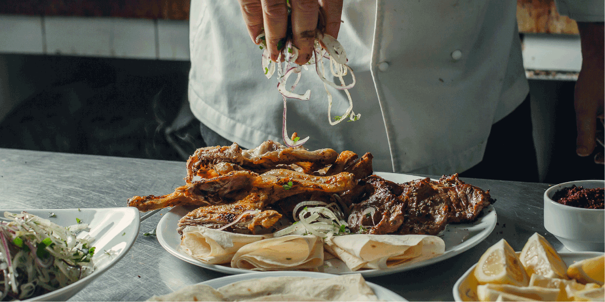 Authentieke, Turkse gerechten